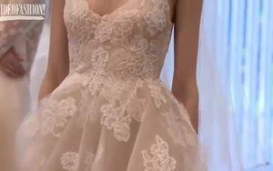 Ngắm bộ sưu tập váy cưới Monique Lhuillier mùa Xuân Hè 2016