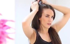 3 kiểu tóc xinh mà năng động khi tập Gym