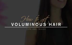 Vài mẹo hay ho giúp mái tóc dày và đẹp hơn