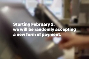McDonald's- Super Bowl XLIX Pay With Lovin'