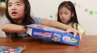 Bé Kan và Aki siêu đáng yêu tập sơn móng tay