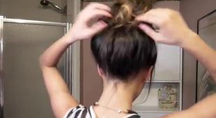 3 phút cho kiểu tóc búi rối kiểu cách