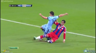 Champions Leauge 2014/2015: Man City 3-2 Bayern