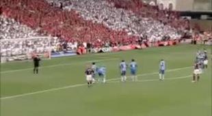 Thierry Henry ghi bàn thắng cuối cùng cho Arsenal