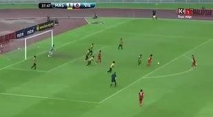 Tuyệt phẩm của Huy Toàn vào lưới U23 Malaysia