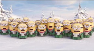 MINIONS Go Caroling - Holiday Gift Card Offer