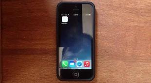 Giao diện iPhone khác lạ khi tùy biến như Apple Watch