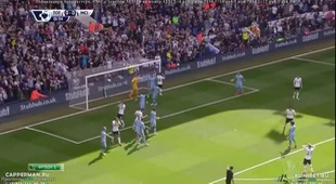 PL 2014/15: Tottenham 0 - 1 Man City