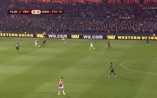 AS Roma nhọc nhằn vượt qua Feyenoord