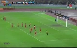 Naim bất ngờ mở tỉ số 1-0 cho U23 Malaysia