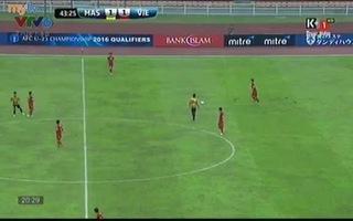 Công Phượng tỏa sáng giúp U23 Việt Nam dẫn Malaysia 2-1