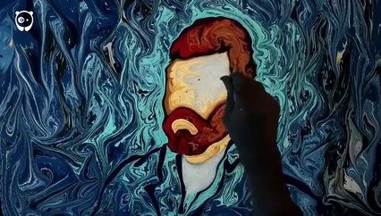 """Sự kỳ diệu của nghệ thuật """"vẽ tranh trong nước"""""""