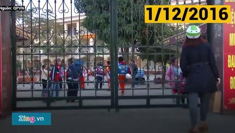 Clip: Hành trình tìm công lý vụ học sinh Nam Trung Yên gãy chân