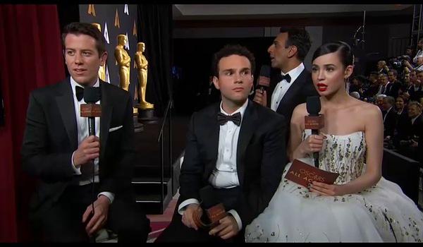 """Phản ứng của các ngôi sao khi biết trao giải nhầm. Ngoài trừ đoàn làm phim """"Moonlight"""" thì ít ai cảm thấy vui mừng."""