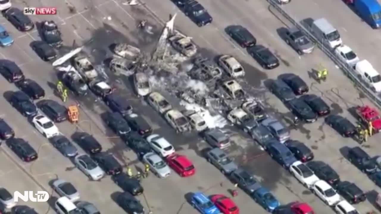 Máy bay của gia đình Bin Laden rơi ở Anh