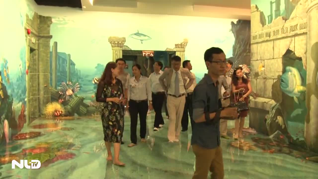 Bảo tàng tranh 3D đầu tiên tại TP HCM chính thức mở cửa