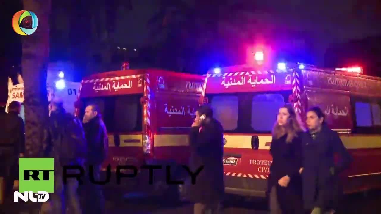Bom nổ ở Tunisia, toàn bộ đội bảo vệ tổng thống 14 người tử vong