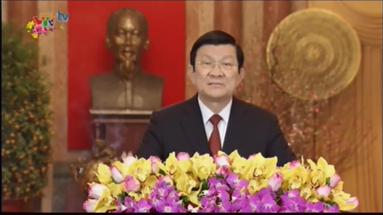 Chủ tịch nước chúc Tết 2016