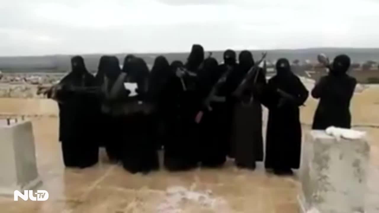 Vợ thủ lĩnh IS bỏ trốn