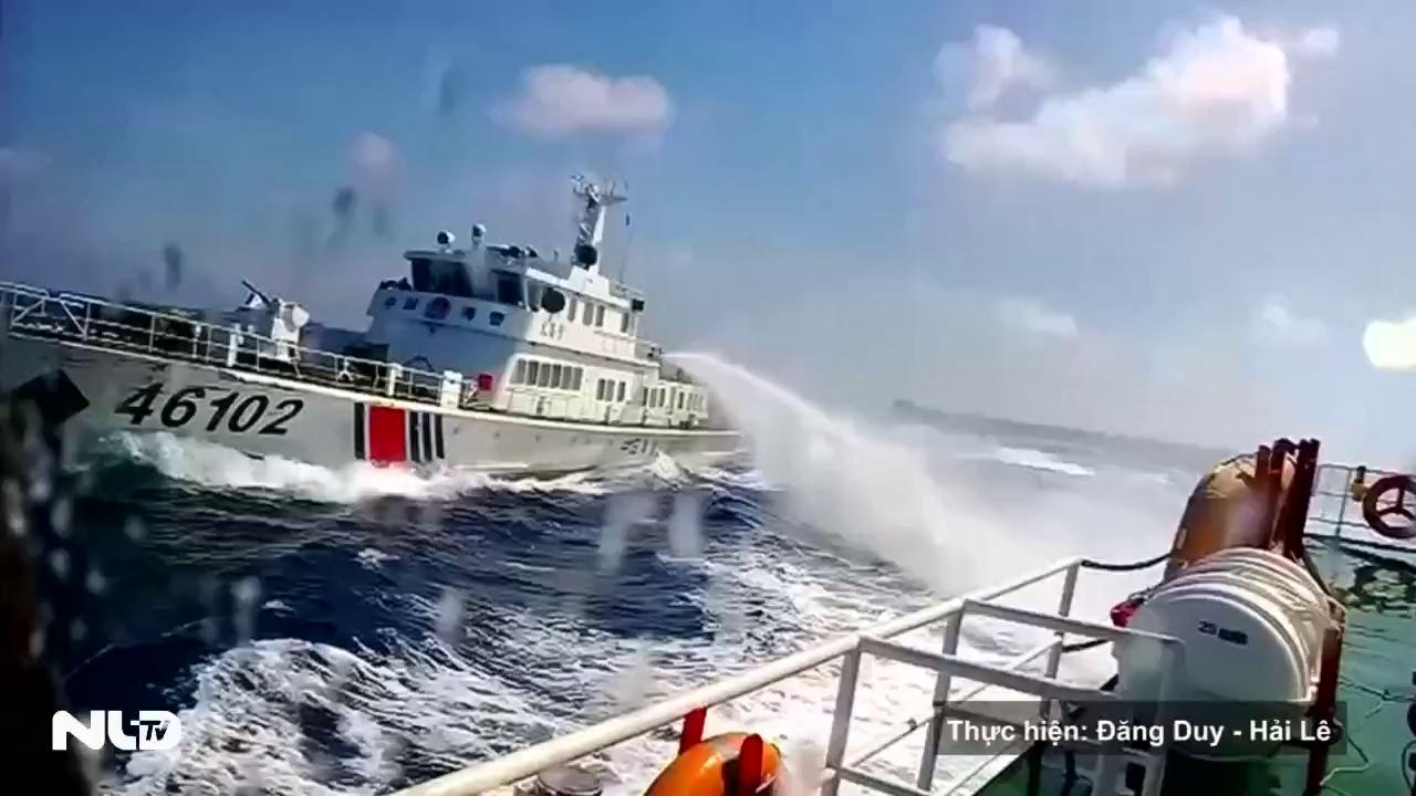 Bắc Kinh tố ngư dân Philippines ném bom xăng vào tàu hải cảnh Trung Quốc