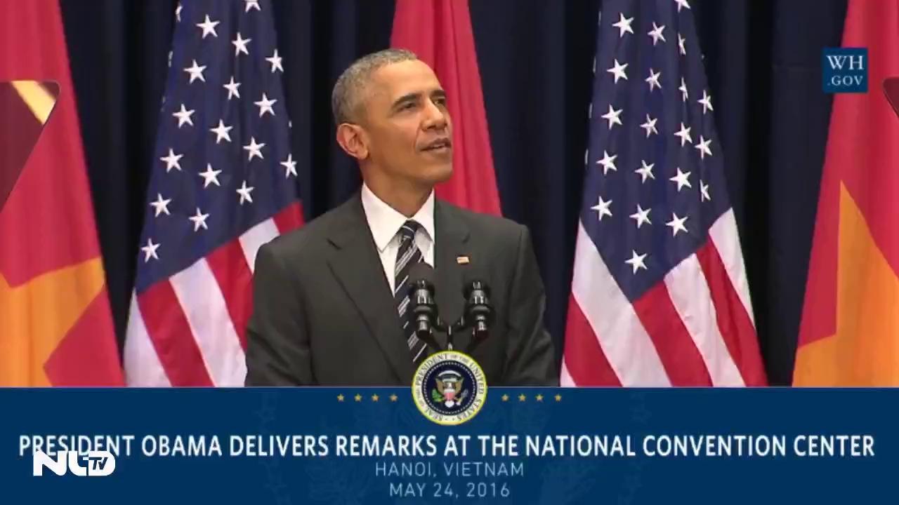 """TT Obama: """"Của tin gọi một chút này làm ghi…"""""""