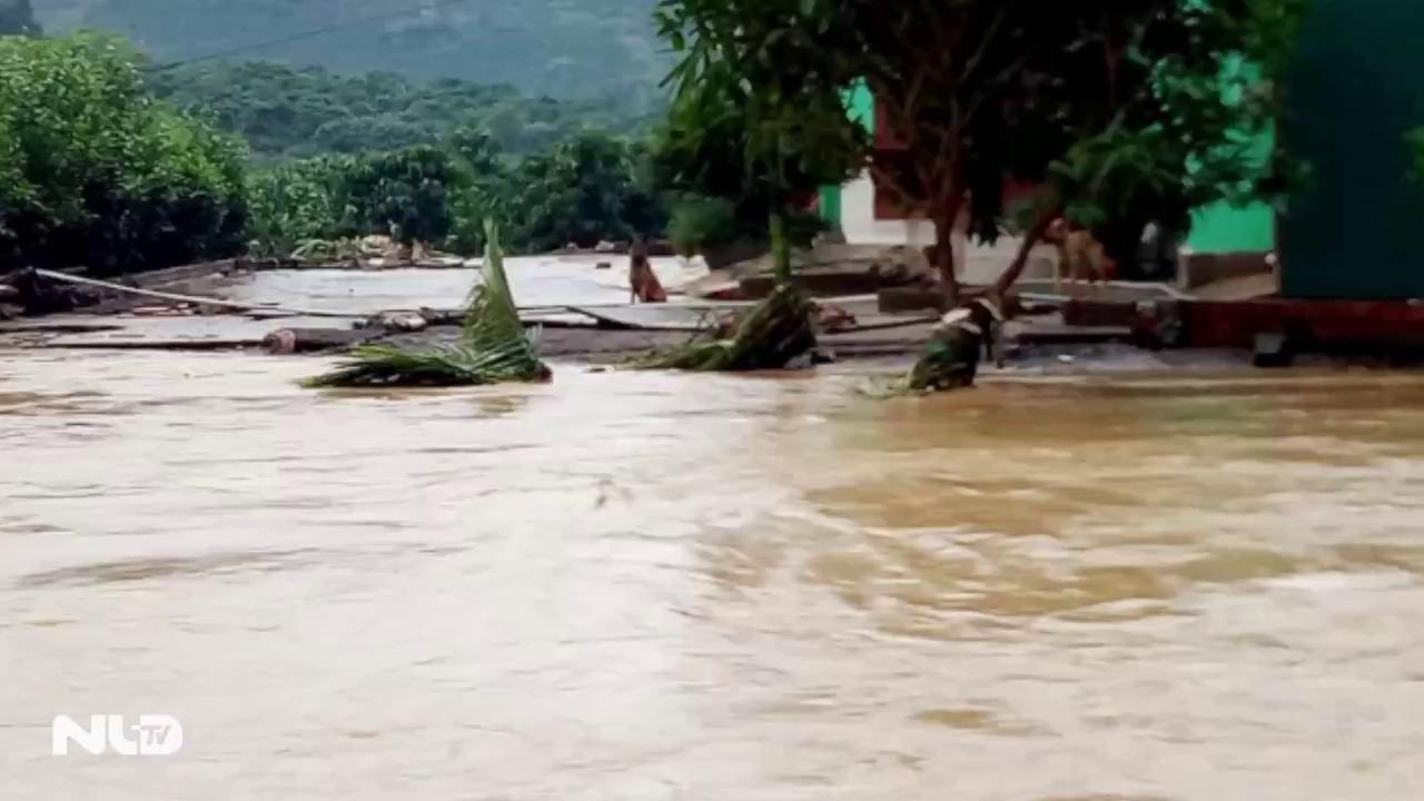 Di Linh, Lâm Đồng: Người dân trở tay không kịp vì đập chứa nước xả lũ