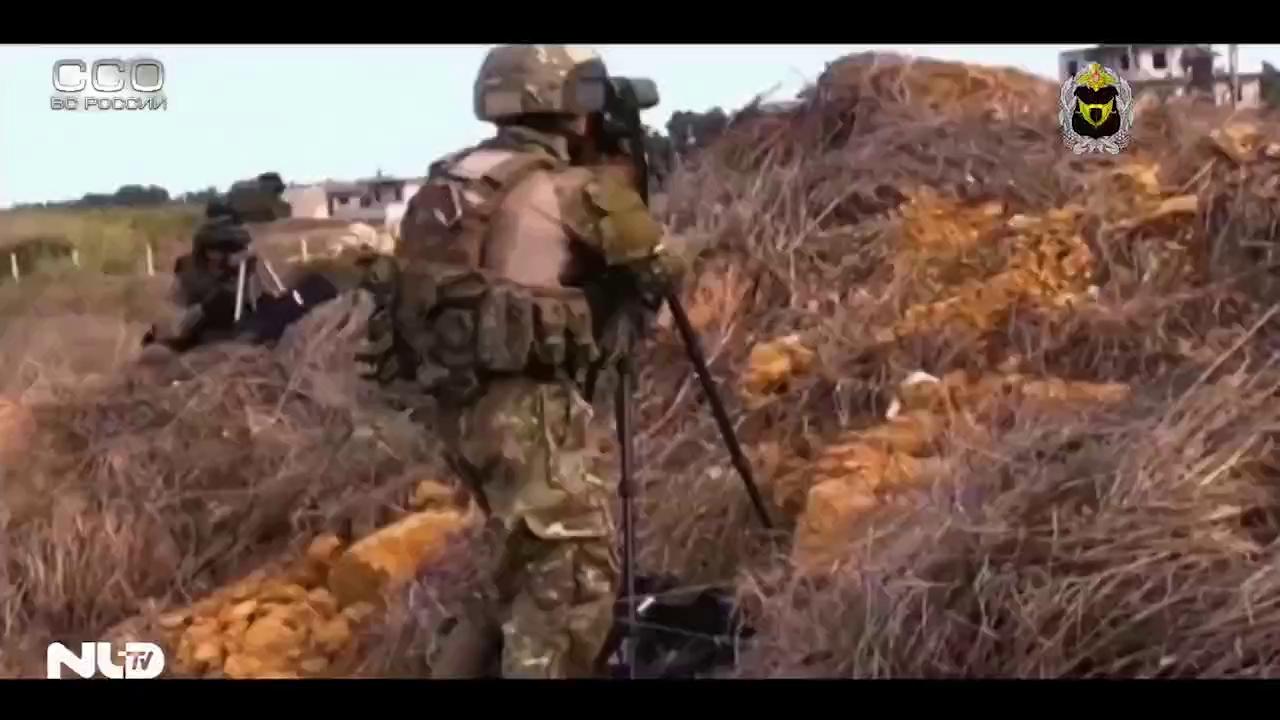 Nga công bố video đặc nhiệm tham chiến tại Syria