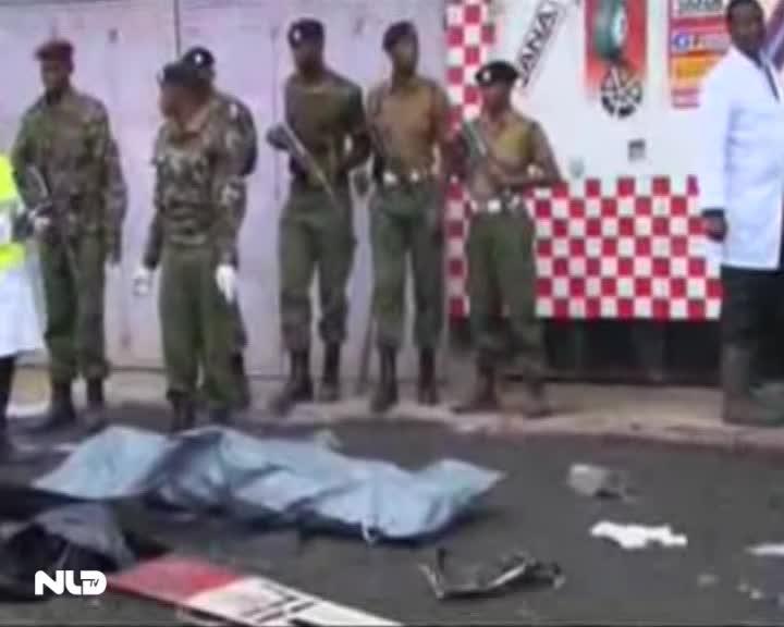Máy bay rơi tại Kenya, 4 người tử nạn
