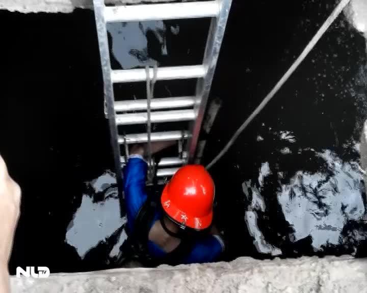 Bình Dương: 2 bé trai bị nước cuốn xuống cống