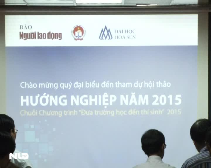 Báo Người Lao Động tổ chức Hội thảo Hướng nghiệp 2015