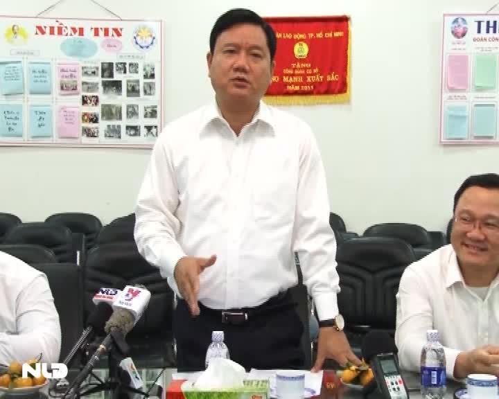 Bộ trưởng Đinh La Thăng chỉ thị đưa tất cả hành khách về quê ăn Tết