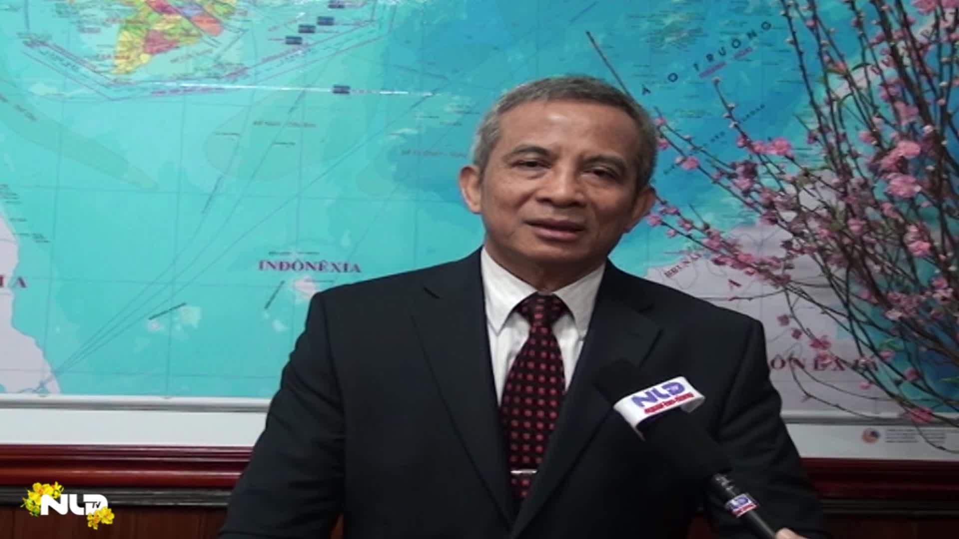Chủ tịch Tổng LĐLĐ Việt Nam Đặng Ngọc Tùng chúc Tết