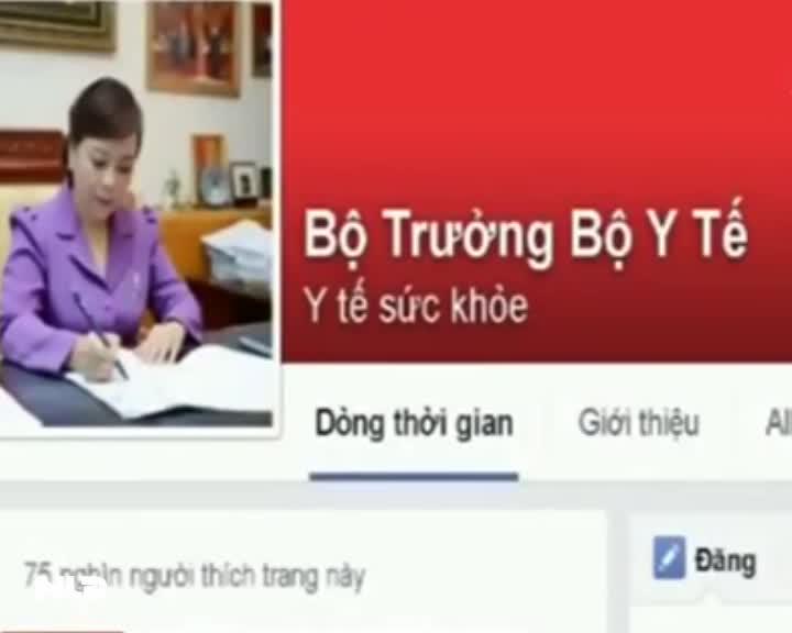 Bộ trưởng Y tế nói gì về trải nghiệm Facebook?