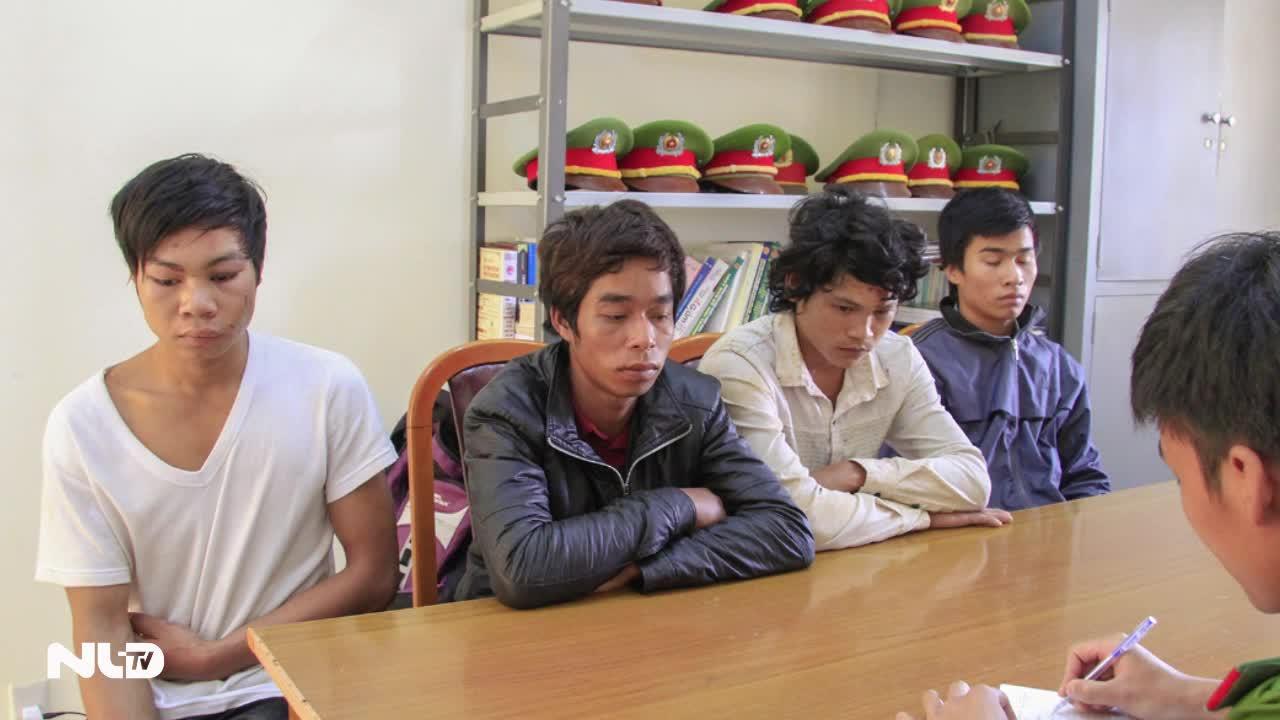 Lâm Đồng:  Bắt giữ 4 nghi phạm đánh Công an xã bất tỉnh