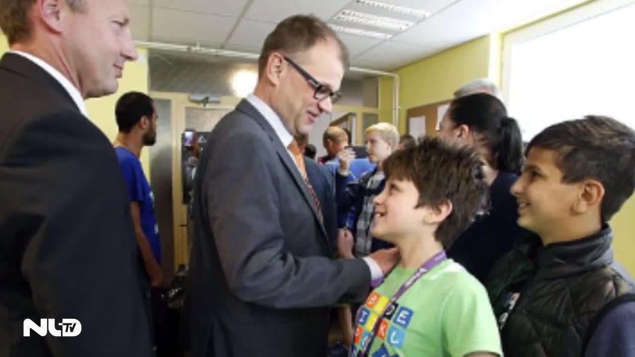 Thủ tướng Phần Lan nhường nhà cho người tị nạn