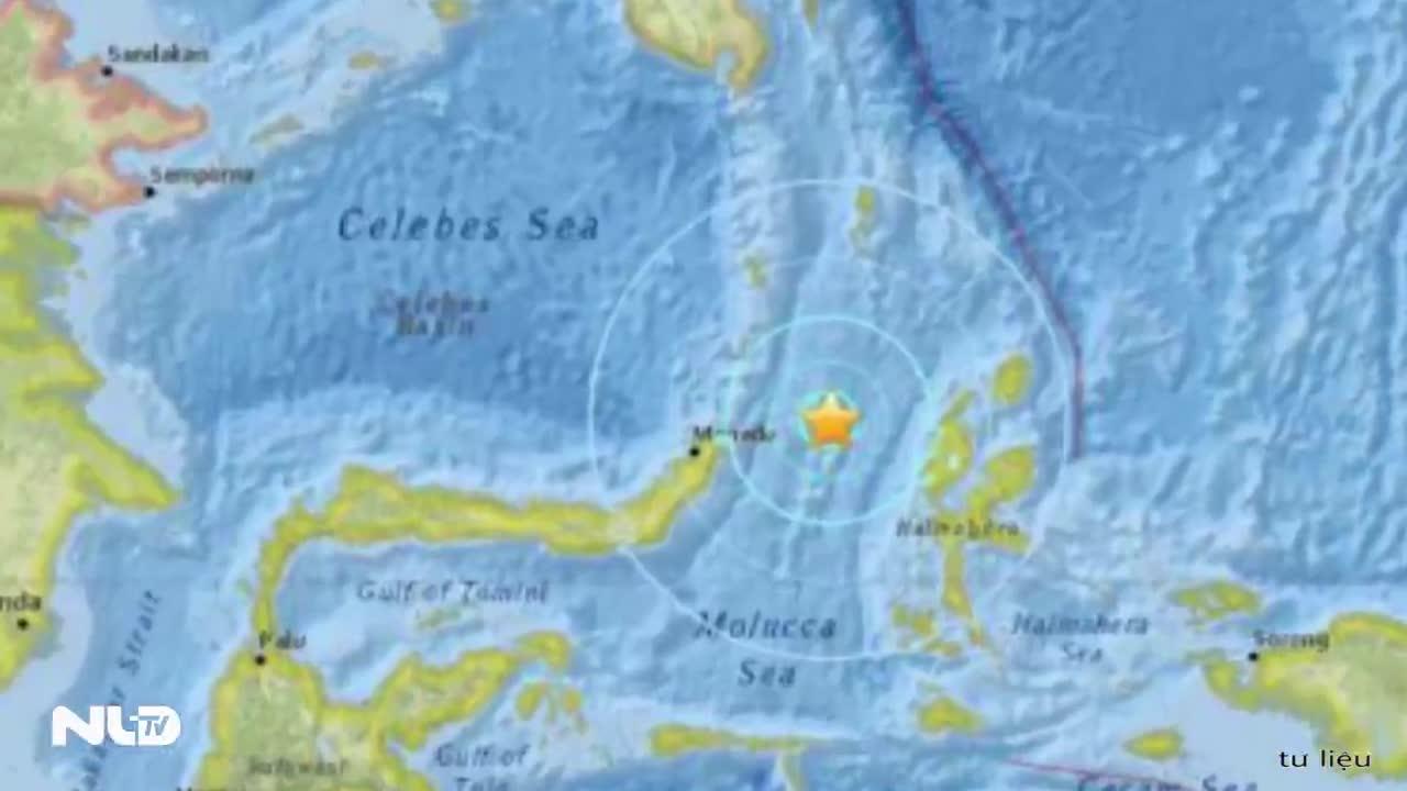 Động đất mạnh 6,8 độ Richter ở Indonesia, 62 người bị thương