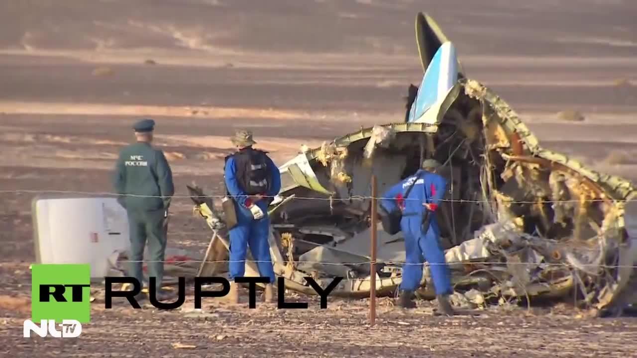 Nga thừa nhận máy bay Airbus 321 đã bị đánh bom