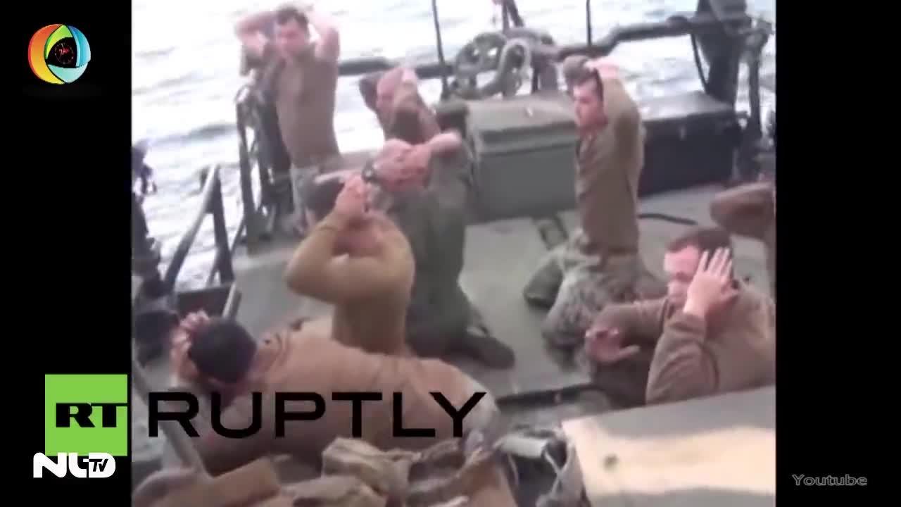 Iran công bố video đối xử với thủy thủ Mỹ bị bắt giữ