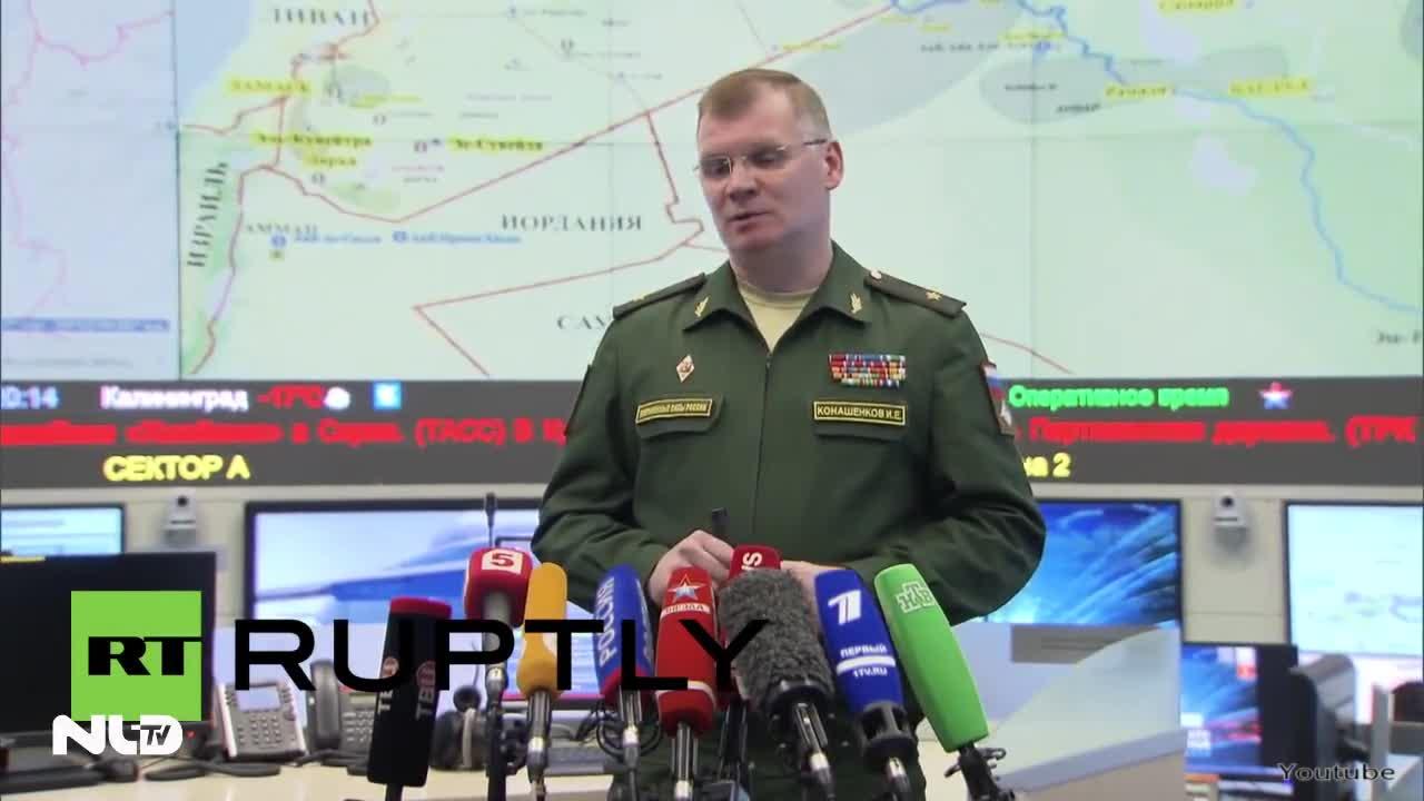 Nga công bố video Thổ Nhĩ Kỳ nã pháo hạng nặng vào Syria
