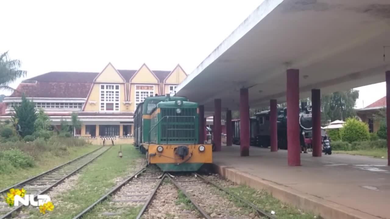 Phóng sự: Khám phá tuyến đường sắt độc đáo nhất Việt Nam ở Đà Lạt
