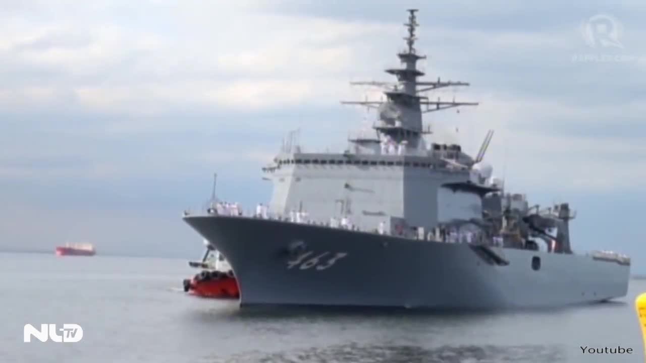 Chiến hạm Nhật hộ tống tàu ngầm đến biển Đông, thăm cảng Cam Ranh