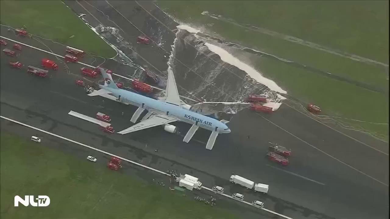 Video: Máy bay Hàn Quốc với hơn 300 hành khách bốc cháy