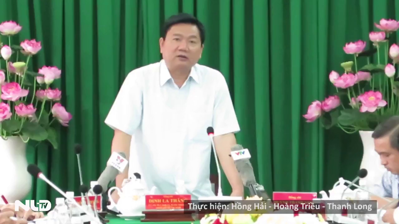 Bí thư Đinh La Thăng: Trong năm nay phải khởi công tuyến Quốc lộ 13-Bình Triệu