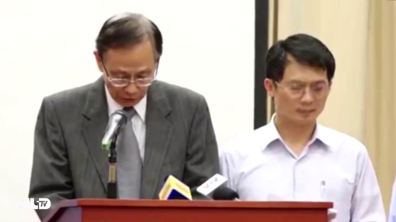 Video: Chủ tịch HĐQT Formosa xin lỗi về sự cố môi trường biển