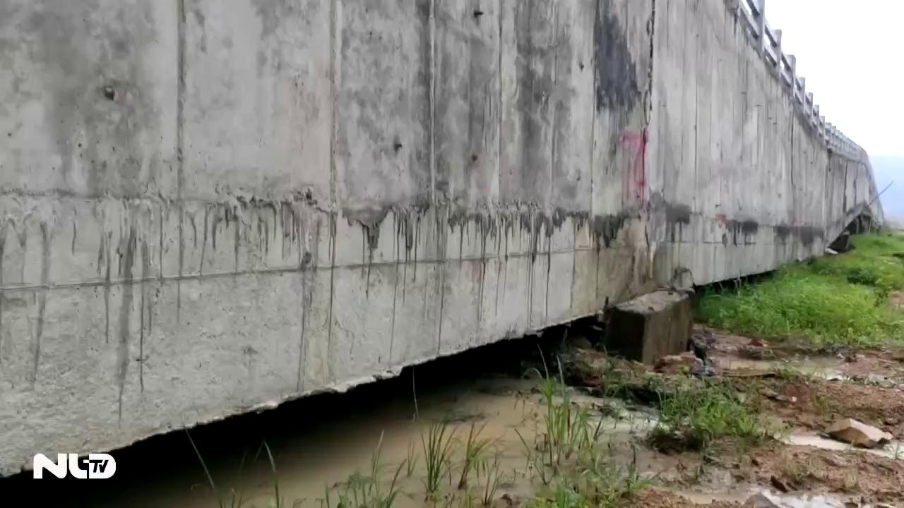 Bình Thuận: Công trình thủy lợi trị giá 119 tỉ đã bị sập