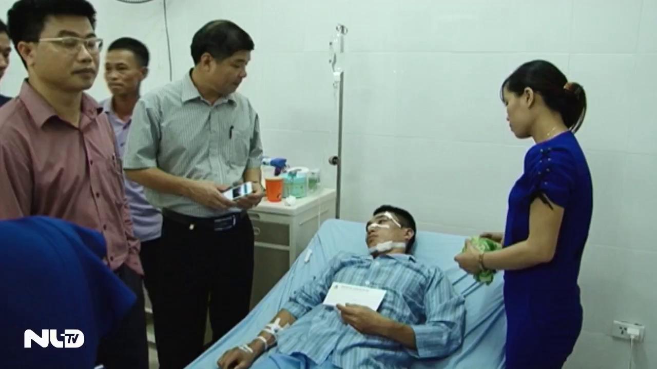 Quảng Ninh: Nổ mìn khai thác than, 14 công nhân bị thương