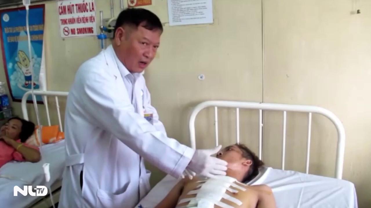 Nghẹt thở cứu sống nam thanh niên bị đâm thủng tim
