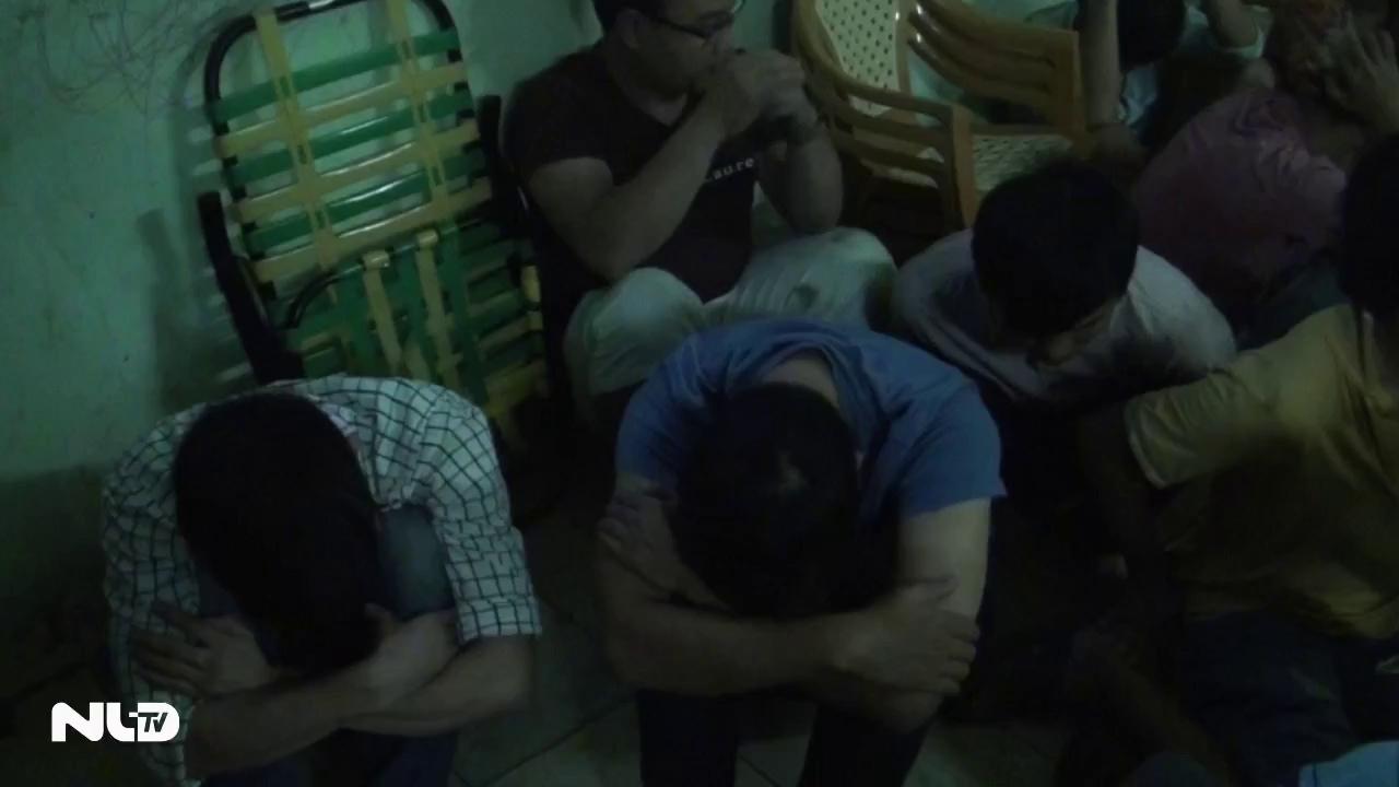 TP HCM: Phá ổ bạc lớn tại chung cư Bàu Cát