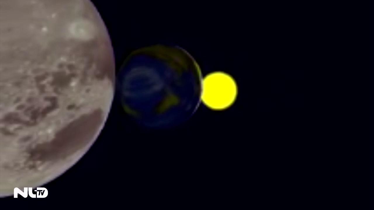 Nguyệt thực, sao chổi, trăng tuyết cùng xuất hiện