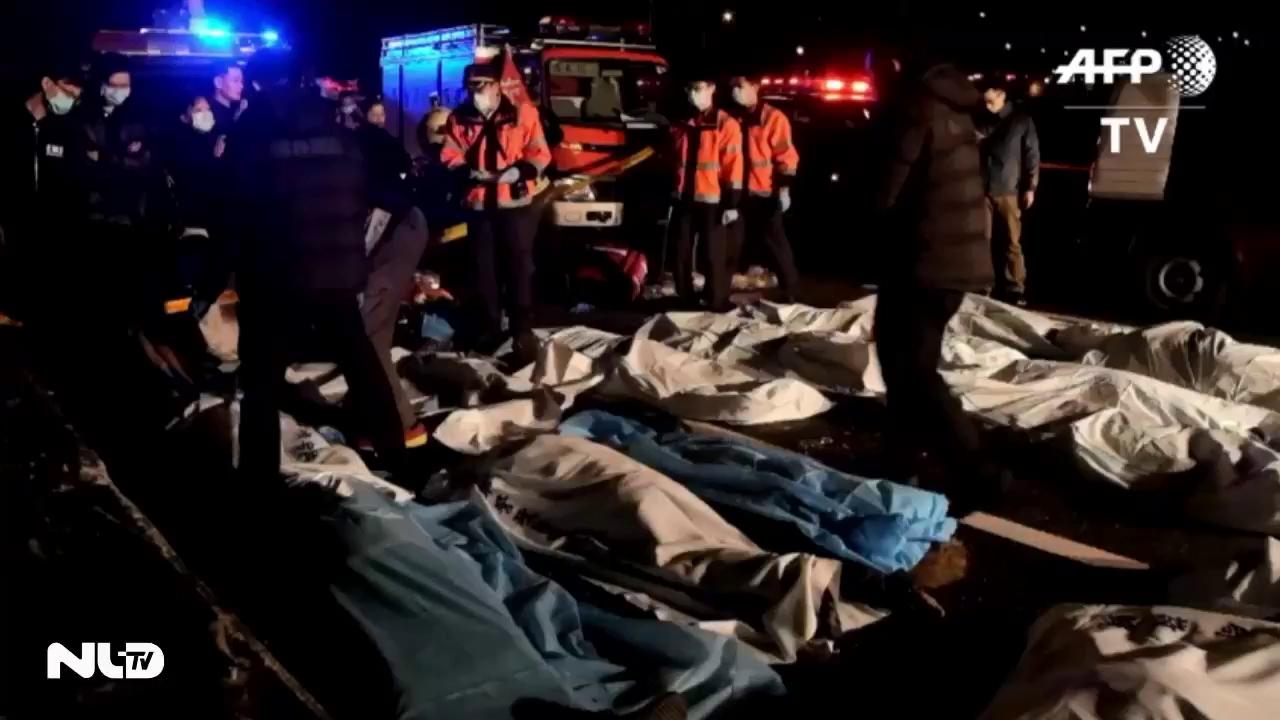 Tai nạn xe buýt ở Đài Loan, ít nhất 32 người thiệt mạng